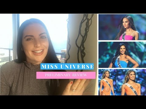 MISS UNIVERSE PRELIMINARY COMPETITION REVIEW | Top 20, Top 5, Top 3