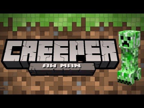 Creeper: AW MAN! Minecraft Unfair Map