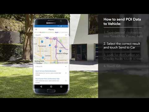 How to Use HondaLink® App to Send POI to Navi System on the 2018 Honda Accord