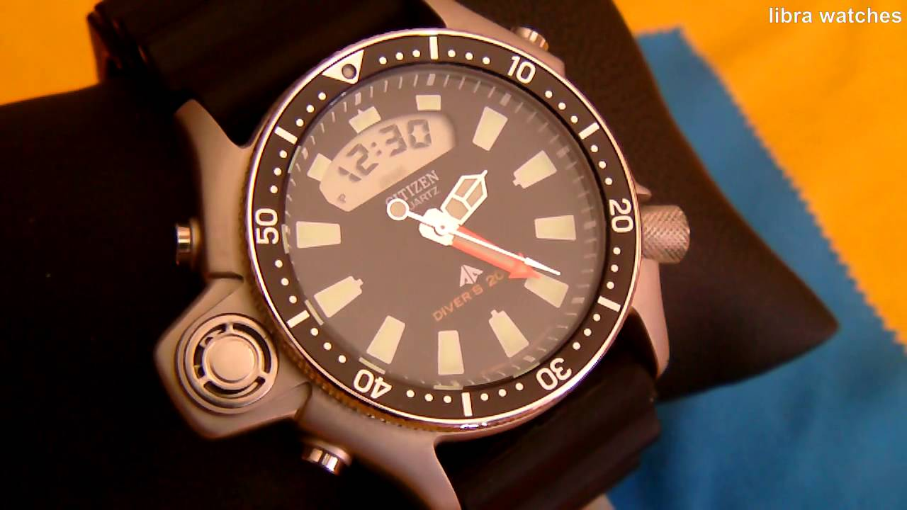 Citizen Promaster Aqualand Diver S 200m Youtube