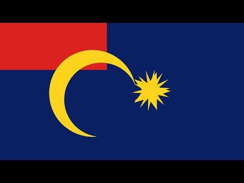 Historical Malaysian Flag (+ states) Animation