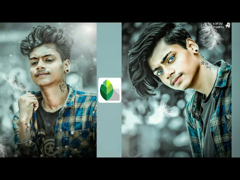 Eye Lens 👁️ Colour Editing In Mobile | Snapseed New Viral 🔥Photo Editing | Snapseed And Picsart |