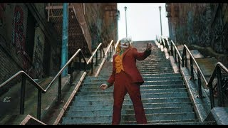 Stairs dance scene \ Escape from cops | Joker [UltraHD, HDR]