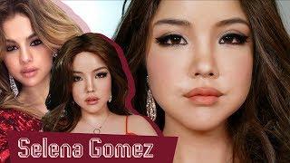 [고수뷰티] 역대급 커버 메이크업!! 셀레나 고메즈로 변신❤️Selena Gomez Transformation Makeup