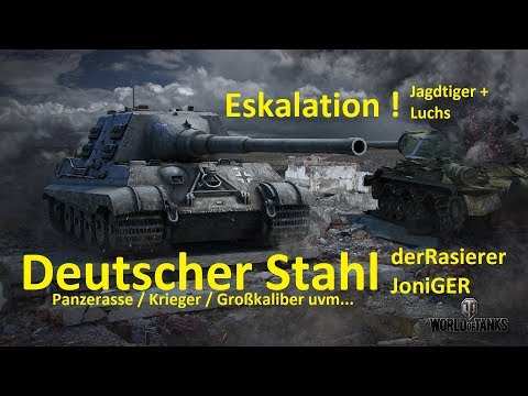 World of Tanks Gast-Replay 0180 (deutsch)  Deutscher Stahl 15 - Neue Namen