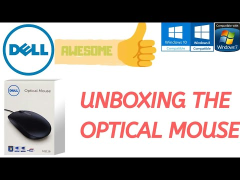 Dell Optical Mouse MS116 {Unboxing}