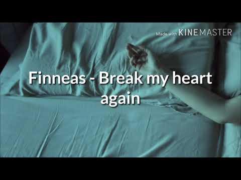 Finneas - Break My Heart Again [Sub Español +lyrics]