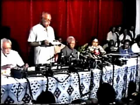 Nyerere's Meeting with Tanzania Press Club 1995 Part 1 of 10