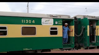 Traveling By Pakistan Railways Rawalpindi to Lahore, Pakistan Railways Journey
