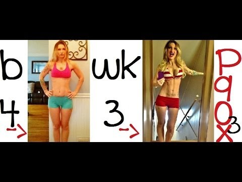 P90x3 3 Week Results Youtube