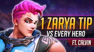 1 ZARYA TIP for EVERY HERO ft. TSM aimbotcalvin