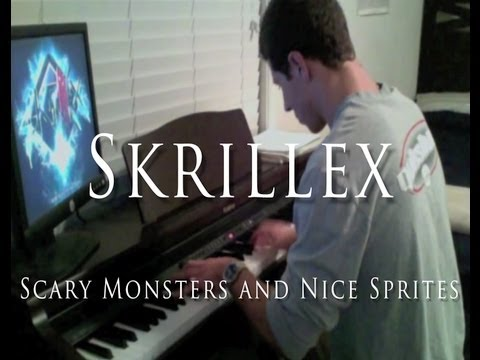 Skrillex - Scary Monsters and Nice Sprites (Piano Cover)