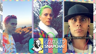 JARED LETO September 2015 Snapchat Story