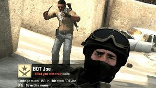 CSGO - Best of BOTs ( Insane MLG Plays, Trickshots, Funny Moments)