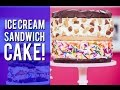 How to Make a BASKIN-ROBBINS COOKIE ICE CREAM SANDWICH! Peanut Butter, Chocolate and Cookie Dough!