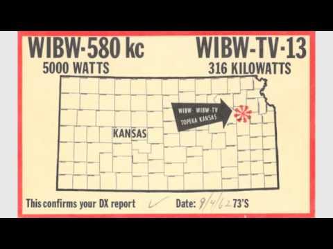 WIBW 580 Topeka - Sign Off - KSAC 580 Manhattan KS Sign On - 1981