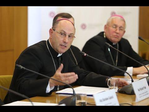 384. Zebranie Plenarne KEP - Konferencja Prasowa - abp Wojciech Polak o programach prewencyjnych