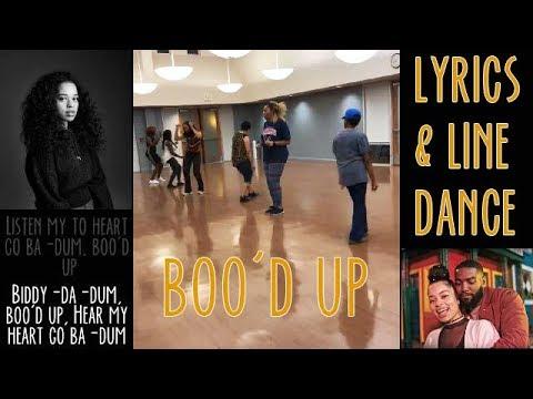 Boo'd Up Lyric + Line Dance Video - Sing & Dance Along