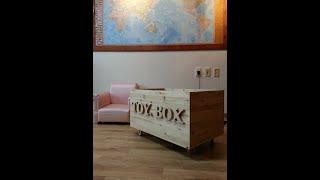 [앙또 꼬숑] 원목 토이박스 만들기/장난감 상자 만들기…