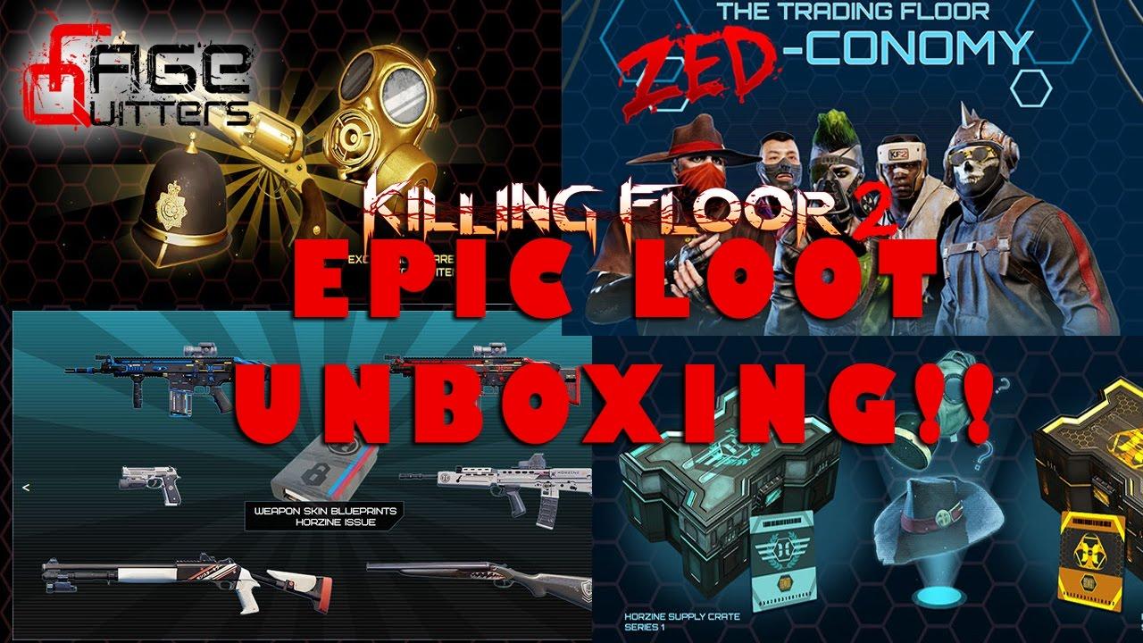 EPIC Killing Floor 2 LEWT (LOOT) ZEDConomy UNBOXING ...