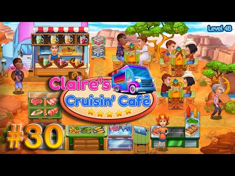 Claire's Cruisin' Cafe   Gameplay (Level 4B) - #30  