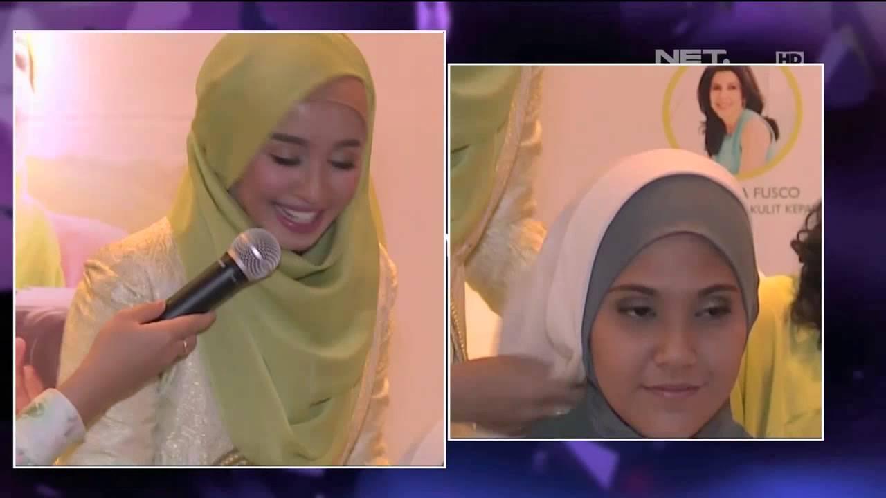 Laudya Cynthia Bella Berbagi Tutorial Model Hijab Favoritnya YouTube
