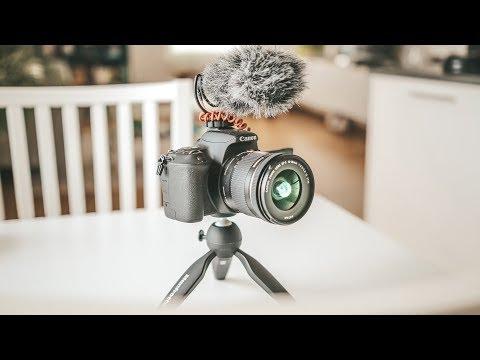 BEST VLOGGING SETUP 2018!! (Camera + Lens + Mic + Tripod)