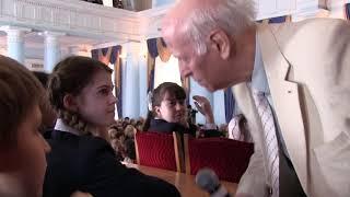 Урок Ш. А. Амонашвили на семинаре в Киеве 2013 - 2