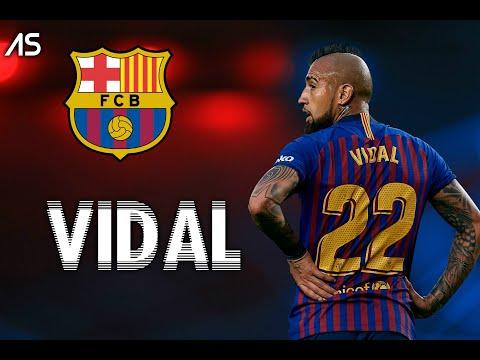 Arturo Vidal 2018 - Barcelona - Skills & Goals 2018 HD