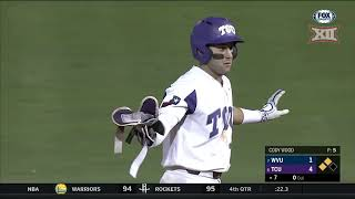 2018 Baseball Championship - West Virginia vs TCU Baseball Highlights, Game 8