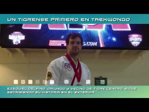 Noticias: Un Tigrense Primero En Taekwondo