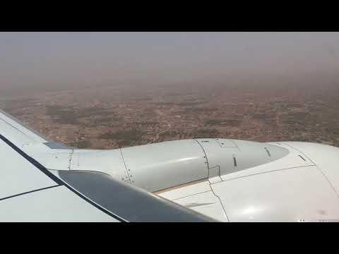 Mali Bamako Landing Mauritania airlines / Mali Bamako Atterrissage Mauritania airlines