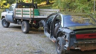 Simple $10 DIY home made tow truck