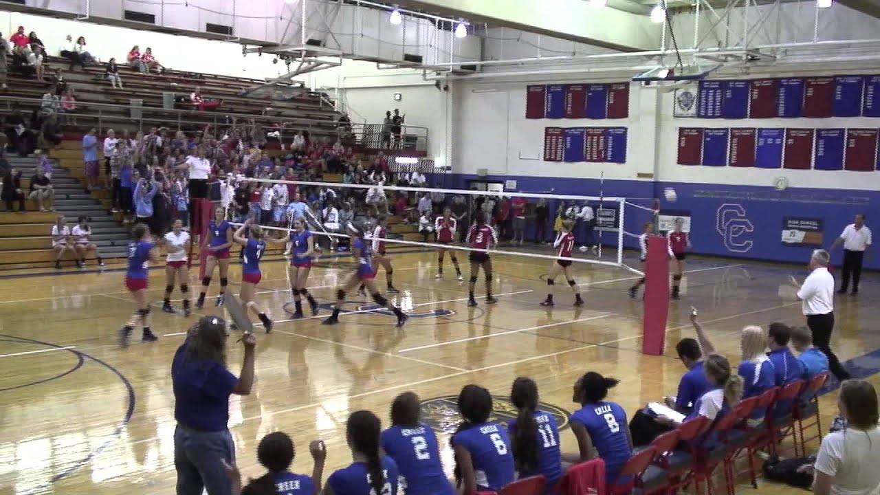 Cherry Creek Regis Volleyball Game 3 Footage