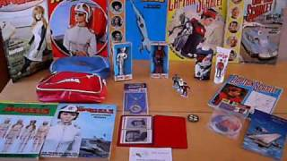CAPTAIN SCARLET MERCHANDISE BOOKS PEDIGREE GERRY ANDERSON CENTURY 21 SUPERMARIONATION 1967