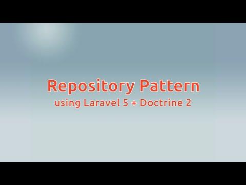 Repository Pattern using Laravel 5 + Doctrine 2 - wilcarjose com