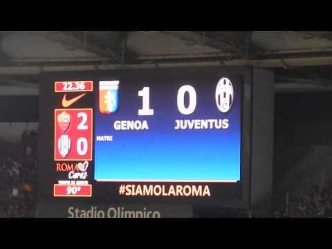 2014 10 29 Esultanza gol Matri (Genoa - Juve 1-0)