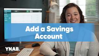 Add a Savings Account | Getting Started with YNAB | Lesson 1.4