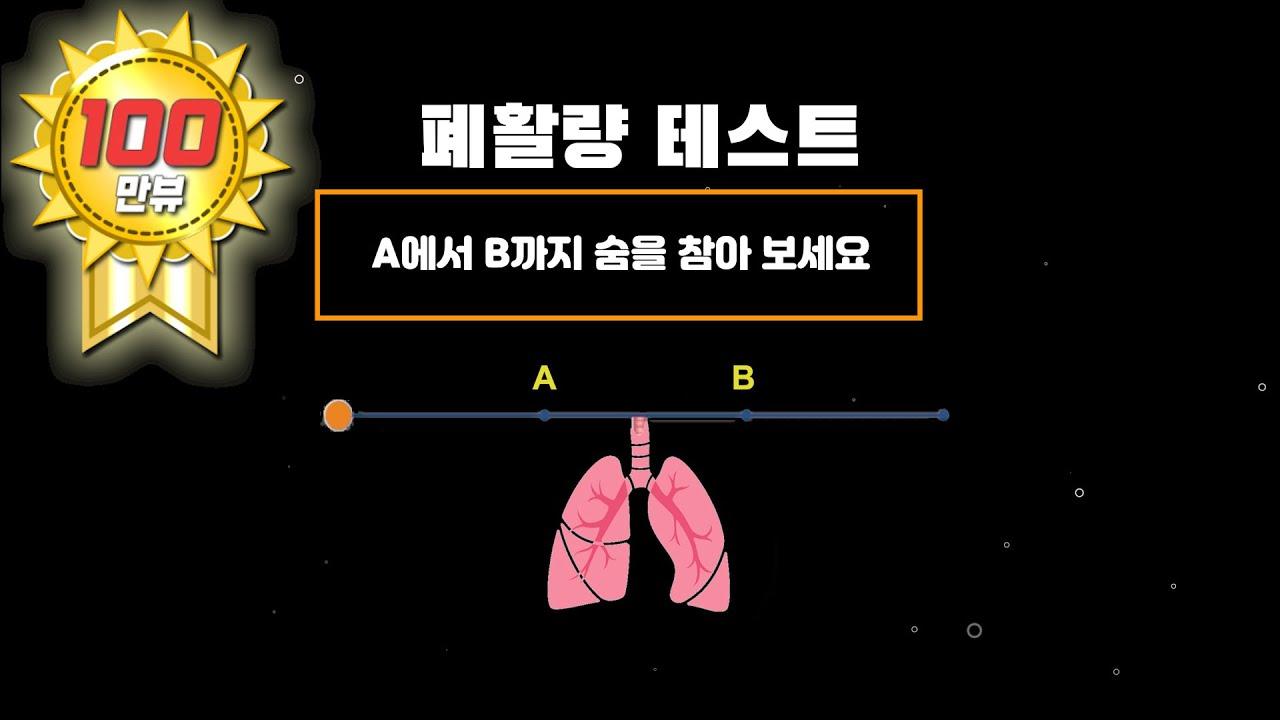 폐활량 테스트 (1단계~3단계)