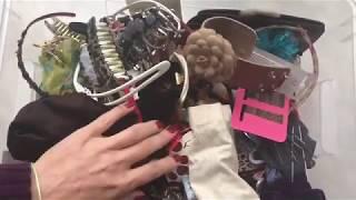Украшения для волос. Общий обзор.Планы к расхламлению по методу Мари Кондо в марафон ГОД БЕЗ ПОКУПОК