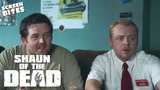 Shaun Of The Dead - Nightmare Housemate. Simon Pegg, Nick Frost, Edgar Wright