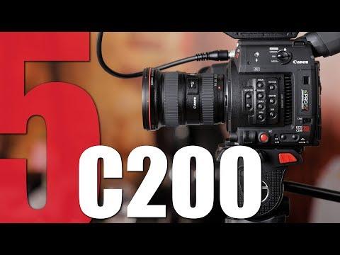 Canon C200 Vs Red Raven