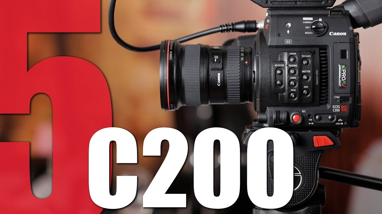 5 Reasons why our customers choose the Canon C200