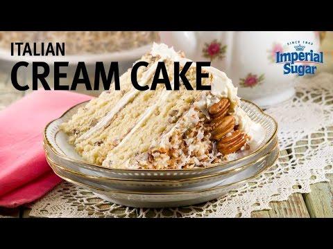 How to Make Italian Cream Cake Recipe