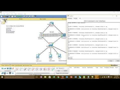 How to configure cisco vlan+vtp+stp+Etherchannel (Full Video)