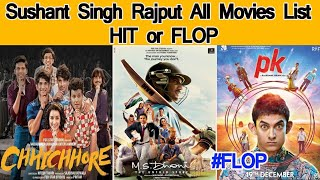 RIP Sushant Singh Rajput Hit And Flop Movies List Box office Collection Analysis | Msdhoni | PK |