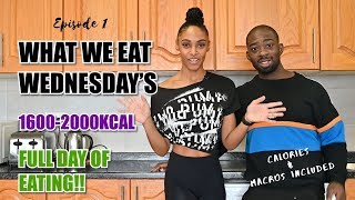 What We Eat - FULL Day of Eating With Calories & Macros