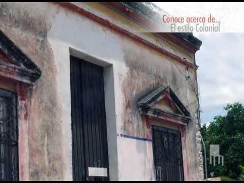 El estilo colonial youtube for Estilo colonial