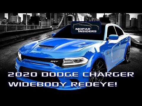 2020 Dodge Charger HELLCAT Redeye Widebody News!