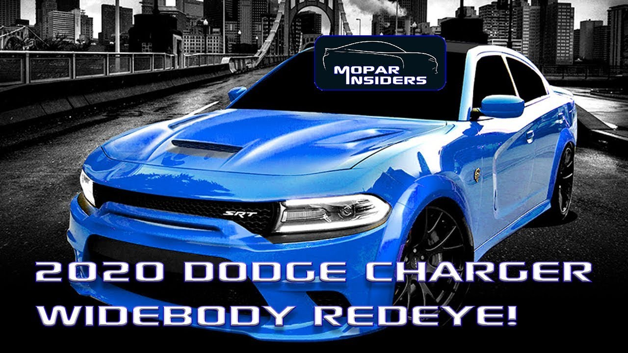 Yes Dodge Will Introduce A Charger Srt Hellcat Redeye In